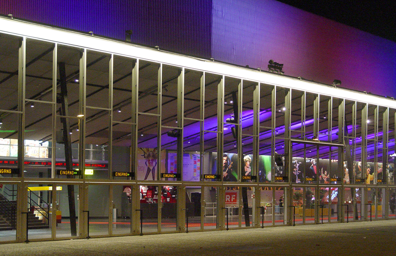 Wiener Stadthalle Podpod Design Light Space Object